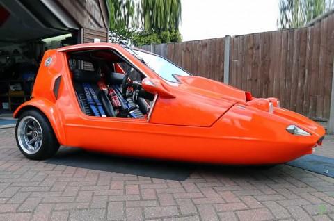 Kapsul Roda Tiga Bond Bug Ini, Pinjam 'Jantung' Suzuki Hayabusa