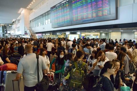 Topan Faxai: 17 Ribu Orang Telantar di Bandara Tokyo