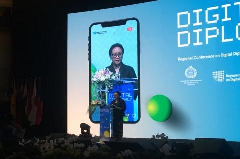 Menlu RI Yakin Diplomasi Digital Berguna Sebarkan Perdamaian