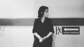Ria Irawan Dapat Bunga dan Doa Kesembuhan dari Jokowi