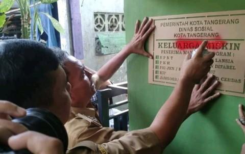 Pemkot Tangerang Beri Label Keluarga Miskin Penerima Bansos
