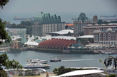 Beda RI dan Singapura Hadapi Perlambatan Ekonomi Dunia