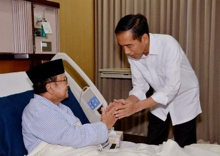 Sosok Habibie di Mata Jokowi