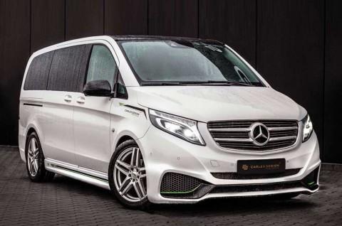 Modifikasi Simpel Mercedes-Benz Vito Tampil Mewah