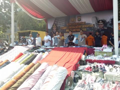 Pakaian Bekas Rp9 M Diselundupkan dari Tiongkok