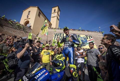 Valentino Rossi Wujudkan Mimpi di Kota Kelahiran