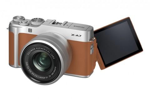 Fujifilm Luncurkan X-A7 untuk Pemula