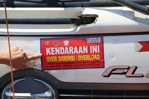 130 Kendaraan Terjaring Operasi ODOL di Tol Cipularang