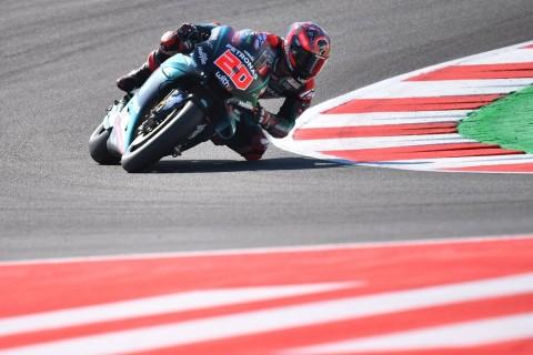 Quartararo Ungguli Marquez Jadi yang Tercepat di FP1 MotoGP San Marino
