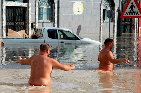 Banjir Rendam Spanyol Tenggara, 5 Orang Tewas