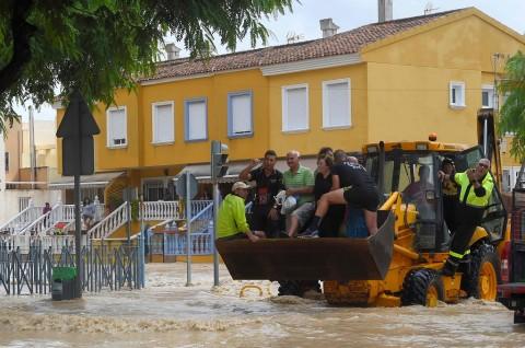 Banjir Bandang di Spanyol Tewaskan Lima Orang