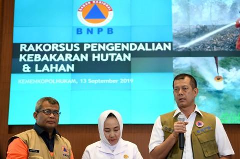 Kepala BNPB: Pejabat Daerah tak Peduli Kebakaran Lahan
