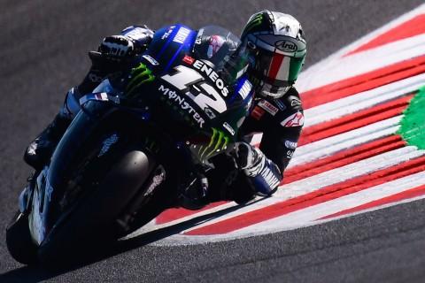 Vinales Raih Pole, Marquez dan Rossi Terlempar dari Lima Besar