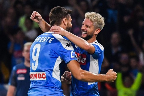 <i>Brace</i> Mertens Bawa Napoli Taklukkan Sampdoria