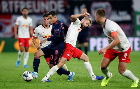 RB Leipzig Tahan Imbang Bayern Munchen