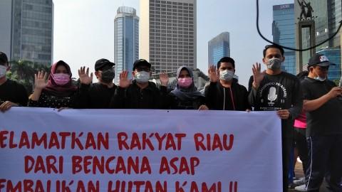 Presiden Diminta Segera Selesaikan Persoalan Asap di Riau
