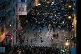 100 Hari Demonstrasi Hong Kong Menuntut Demokrasi