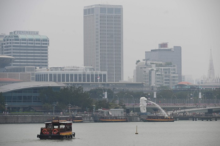 Dampak Kabut Asap di Malaysia dan Singapura
