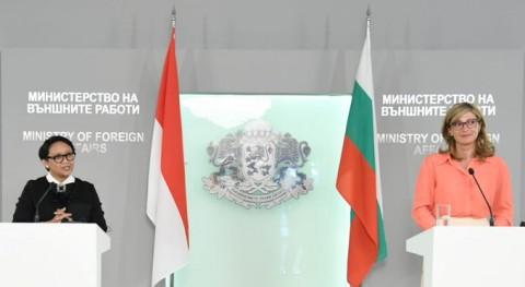 Indonesia, Bulgaria FMs Discuss Trade Cooperation