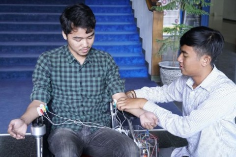 Kursi Roda Otomatis Karya ITS Permudah Gerak DIfabel
