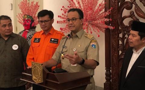 Anies Sebut Trotoar Jakarta Multi Fungsi
