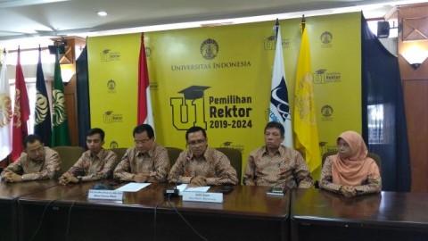 UI Umumkan Tujuh Calon Rektor 2019-2024