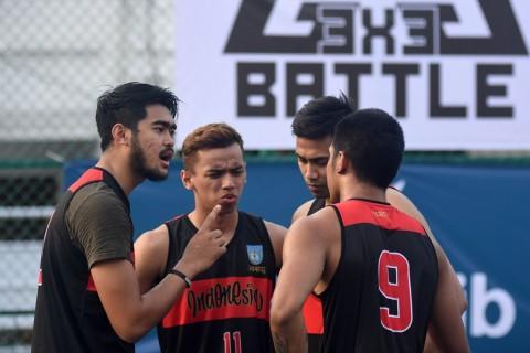 Timnas Basket 3x3 Indonesia Menargetkan Emas SEA Games 2019