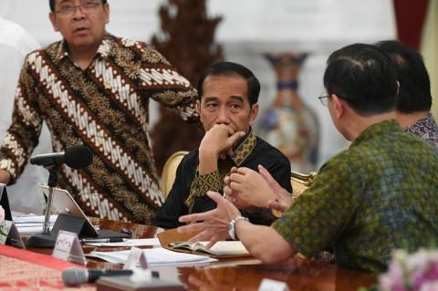 Jokowi Minta Masukan dari Pengusaha Tekstil