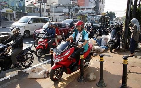 Dua Juta Kendaraan Roda Dua Menunggak Pajak di Jakarta