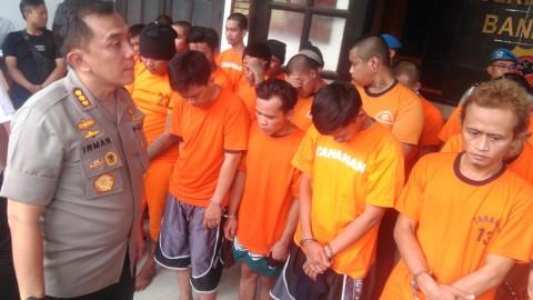 Operasi Libas Lodaya Tangkap 42 Kriminal