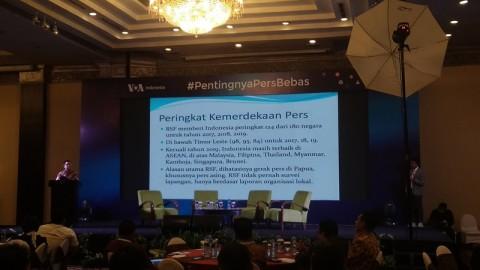 Dewan Pers Terus Mendorong Perbaikan IKP Indonesia