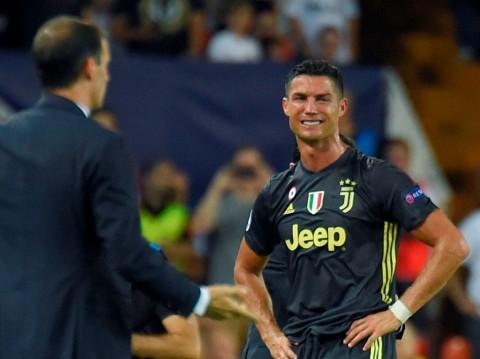 Cristiano Ronaldo Menangis saat Diwawancara