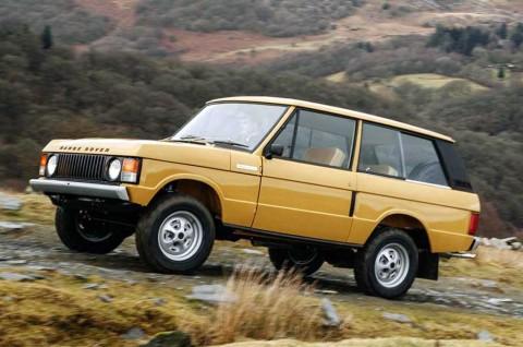 Range Rover Klasik 1978 Retro Offroad Ini Tampil Klimis