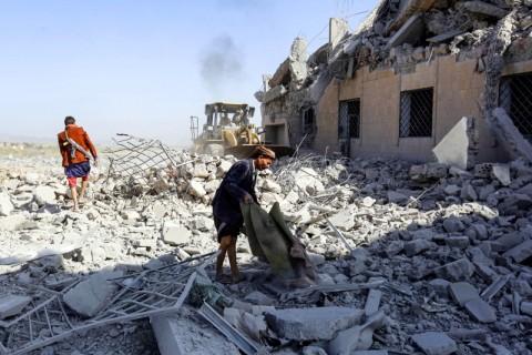 Keluarga Korban Serangan Udara Arab Saudi Tuntut Keadilan