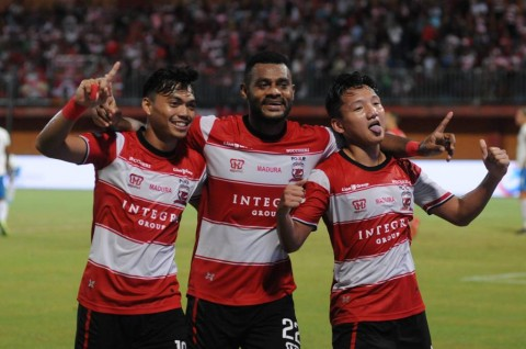 Kesiapan Madura United Menghadapi Borneo FC