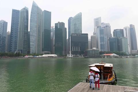Kabut Asap di Singapura Sedikit Mereda