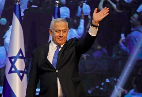 Netanyahu Nantikan Hasil Penghitungan Suara Pemilu