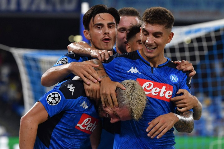 Liverpool Tumbang di Kandang Napoli