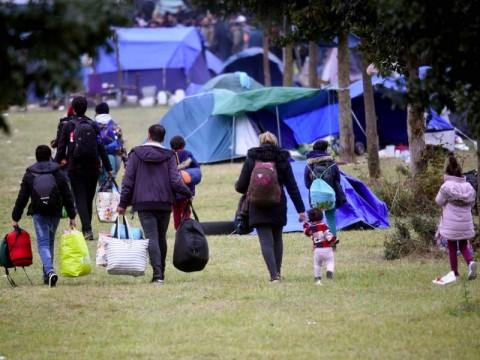 Ratusan Pengungsi Diusir dari Penampungan di Prancis