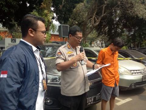 Sopir Penggadai BPKB Milik Majikan Ditangkap