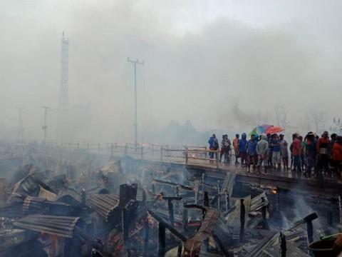 255 KK di Asmat Kehilangan Tempat Tinggal Akibat Kebakaran