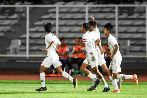 Babak Pertama, Indonesia Unggul 6-1 atas Kep Mariana Utara