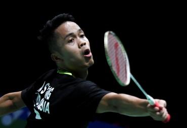 Anthony Ginting Lolos ke Babak Dua China Open 2019