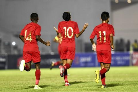 Timnas Indonesia U-16 Gilas Mariana Utara 15-1