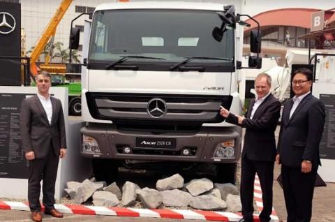 Axor 2528, Senjata Baru Mercedes-Benz di Sektor Pertambangan