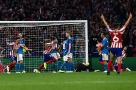 Juventus Kolaps, Atletico Selamatkan Satu Poin