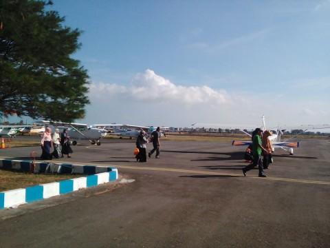 Pesawat Perintis Uji Coba Penerbangan Sumenep-Pagerungan