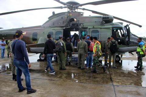 Tim Gabungan Cari Pesawat Hilang Kontak di Papua