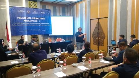 DPW NasDem DIY Gelar Pelatihan Jurnalistik untuk Kader