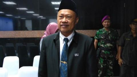 Komarudin Jadi Rektor Terpilih UNJ 2019-2023